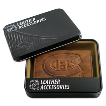 Montreal Canadiens Leather Trifold Wallet
