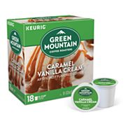 Keurig® K-Cup® Pod Green Mountain Coffee Caramel Vanilla Cream Coffee - 18-pk.