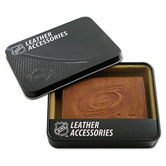 Carolina Hurricanes Leather Trifold Wallet