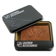Pittsburgh Penguins Leather Trifold Wallet