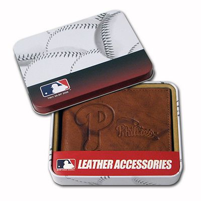 Philadelphia Phillies Leather Bifold Wallet