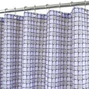 Park B. Smith Urban Tiles Fabric Shower Curtain