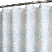 Home Classics Venetian Tiles Fabric Shower Curtain