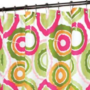 Park B. Smith Groovy Circles Shower Curtain