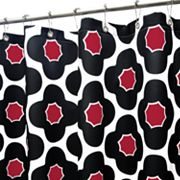 Park B. Smith Mod Floral Fabric Shower Curtain
