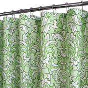 Park B. Smith Rococo Scroll Fabric Shower Curtain