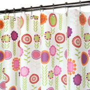 Park B. Smith Spring Meadow Floral Fabric Shower Curtain