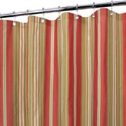 Park B. Smith Baja Dorset Striped Fabric Shower Curtain
