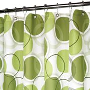 Park B. Smith Circle Central Fabric Shower Curtain