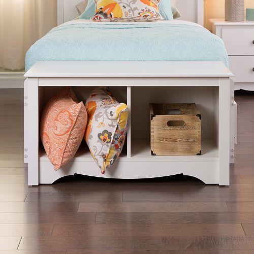 Prepac 2-Cubby Bench