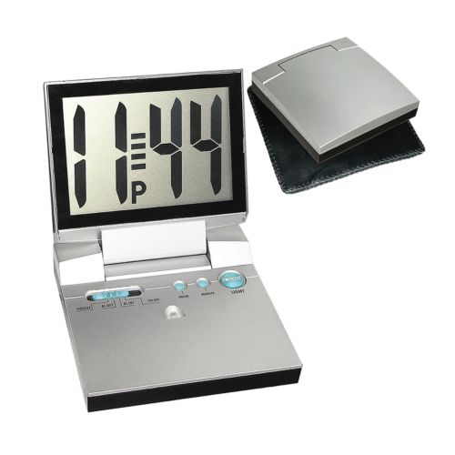 Large-Display Travel Alarm Clock