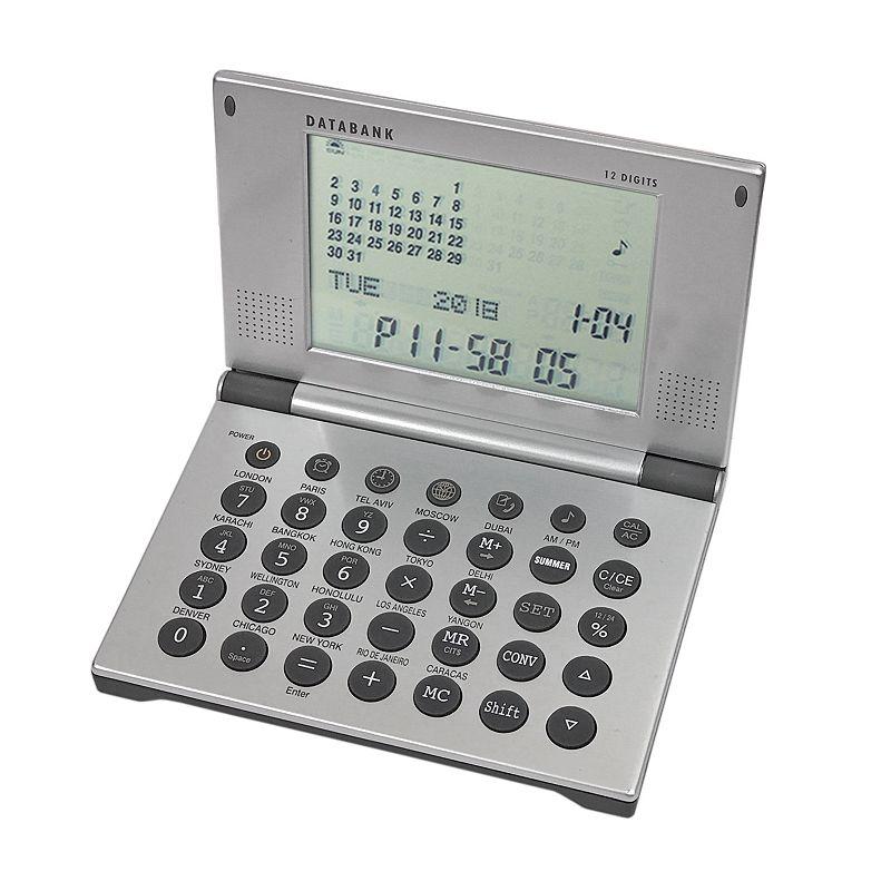 Natico Multifunction Alarm Clock Databank