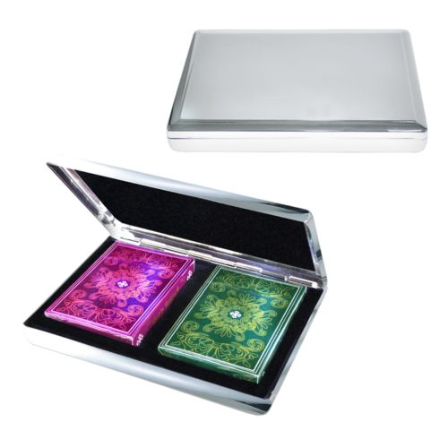 Two Deck Card and Case Set