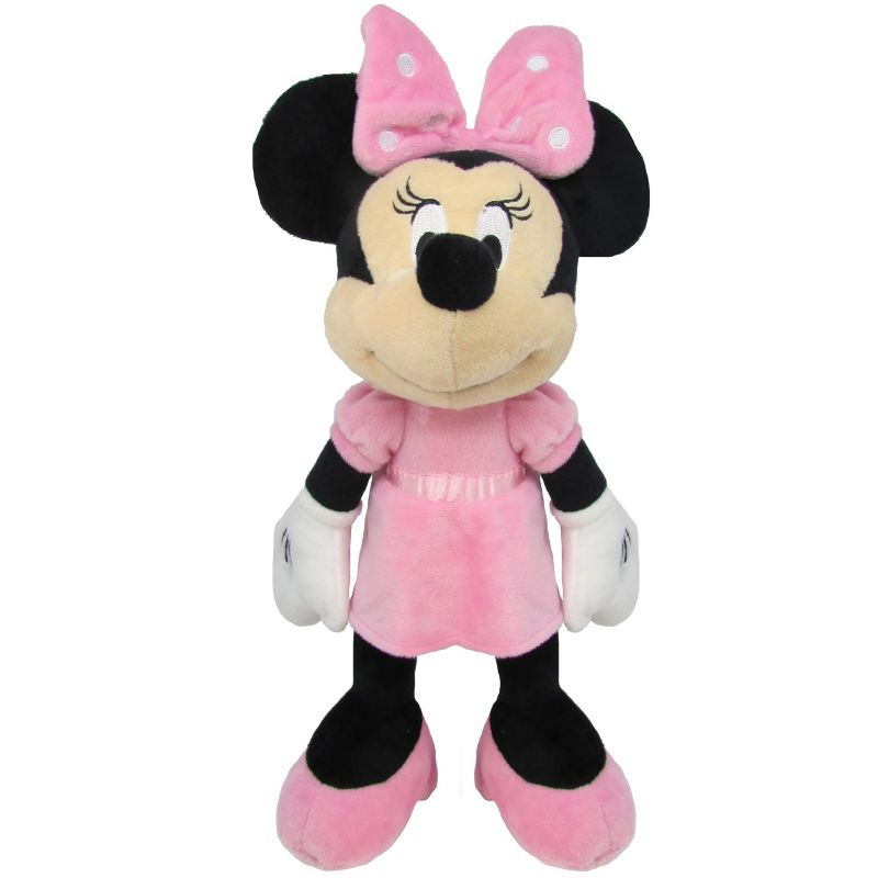 Disney Minnie Mouse Jingle Plush Toy by Kids Preferred, Multicolor