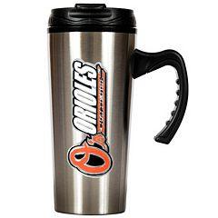 Baltimore Orioles Stainless Steel Travel Mug