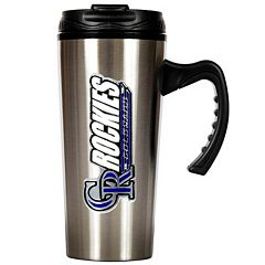 Colorado Rockies Stainless Steel Travel Mug