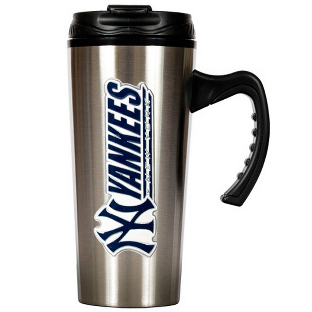 New York Yankees Stainless Steel Travel Mug
