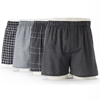 Croft and Barrow 4-pk. Boxers
