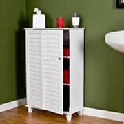Nassau Louvered Towel Cabinet
