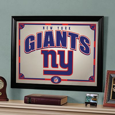 New York Giants Printed Mirror