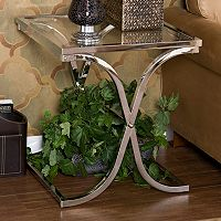 Vogue Chrome End Table