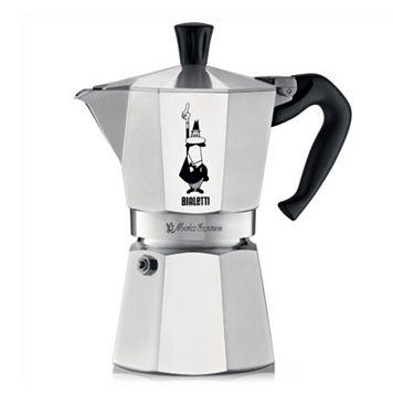 Bialetti Moka Express Stovetop 6-Cup Espresso Maker
