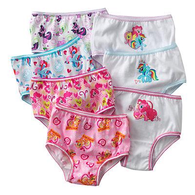 My Little Pony 7-pk. Brief - Toddler Girl