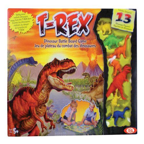 Ideal T-Rex Game