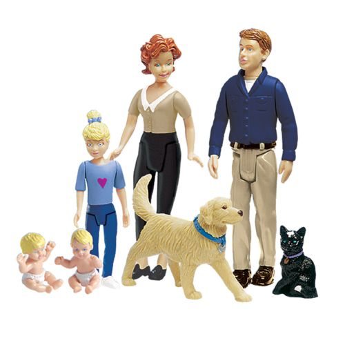 Ideal Decorator Family Figures