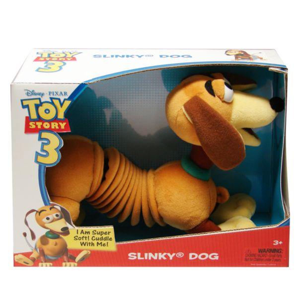 Disney Pixar Toy Story 3 Slinky Dog Plush Toy By Slinky