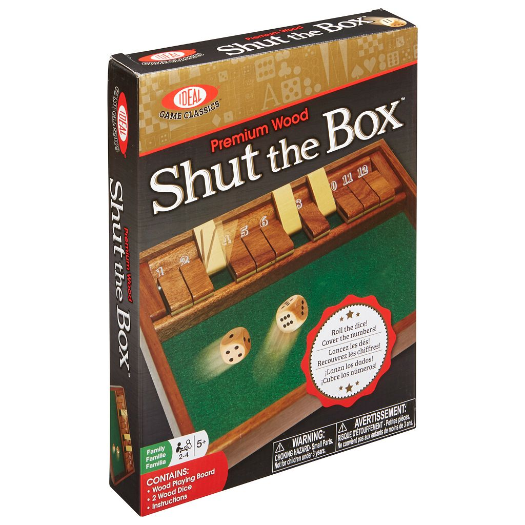 Ideal Shut the Box Game