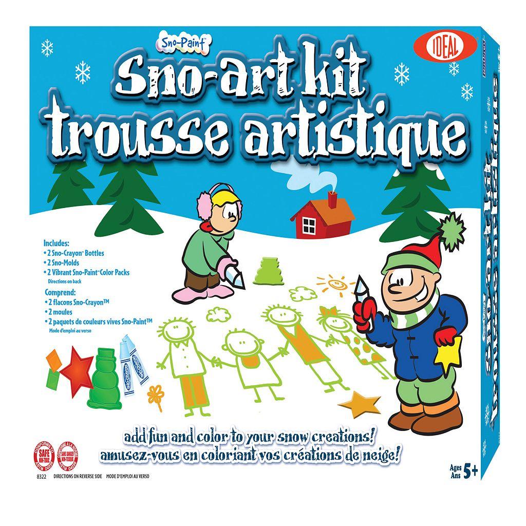 Ideal Sno-Paint Sno-Art Kit