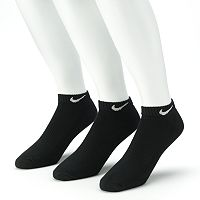 Men's Nike 3 pkLow-Cut Performance Socks