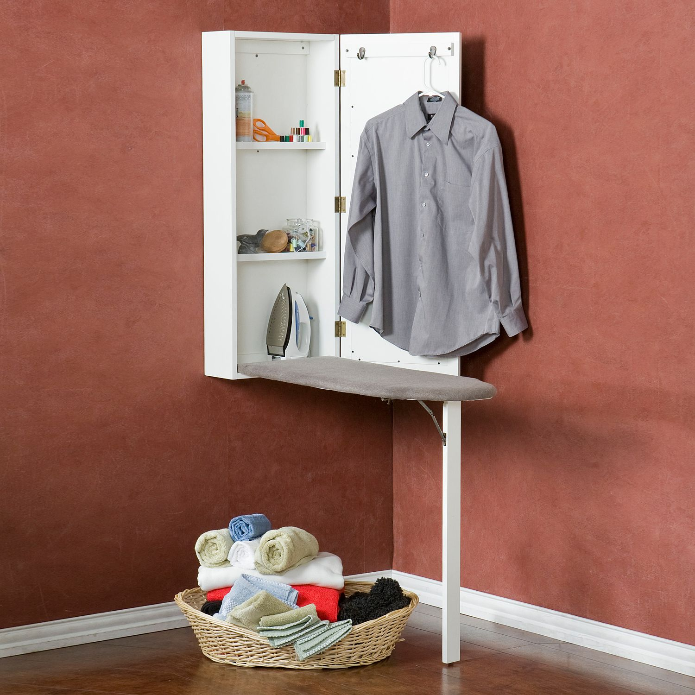stowaway wall mounted ironing board cabinet rh kohls com ironing board in wall cabinet ironing board cabinet home depot