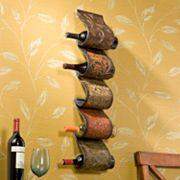 Florenz Wall-Mount Wine Rack Sculpture