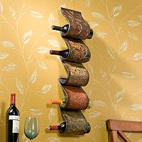 Florenz Wall-Mount Wine Rack Sculpture