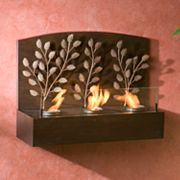 Vine Wall-Mount Gel Fireplace