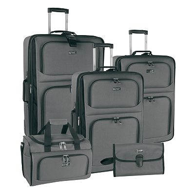 Chaps Voyager 5-pc. Luggage Set
