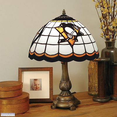 Pittsburgh Penguins Tiffany Table Lamp