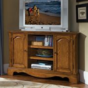 Country Casual Corner TV Stand