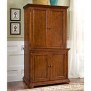 Homestead Compact Office Cabinet and Hutch