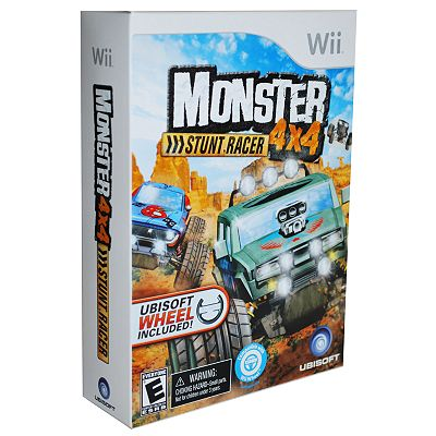 Monster 4x4 Stunt Racer Bundle for Nintendo Wii