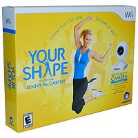 Your Shape featuring Jenny McCarthy Bundle for Nintendo Wii