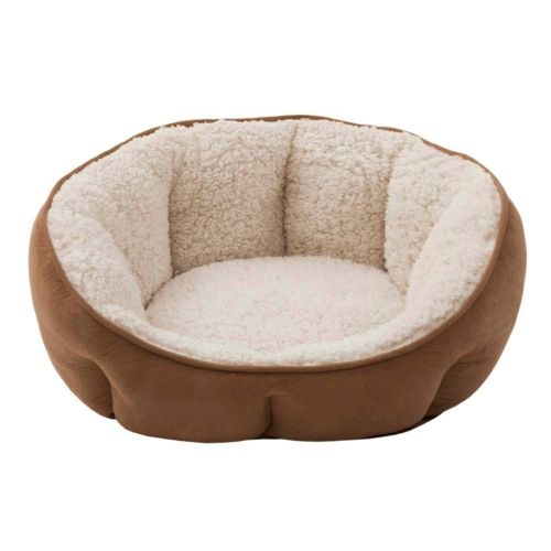 Soft Touch Euro Cuddler Oval Pet Bed - 19'' x 16''
