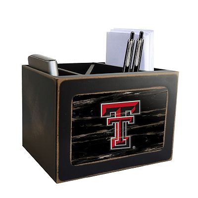 Texas Tech Red Raiders Desktop Organizer