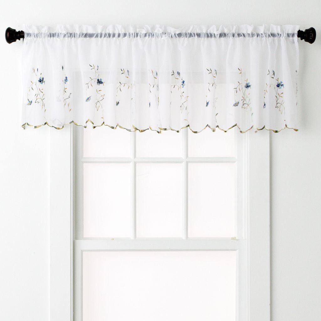 United Curtain Co. Loretta Valance - 52'' x 18''