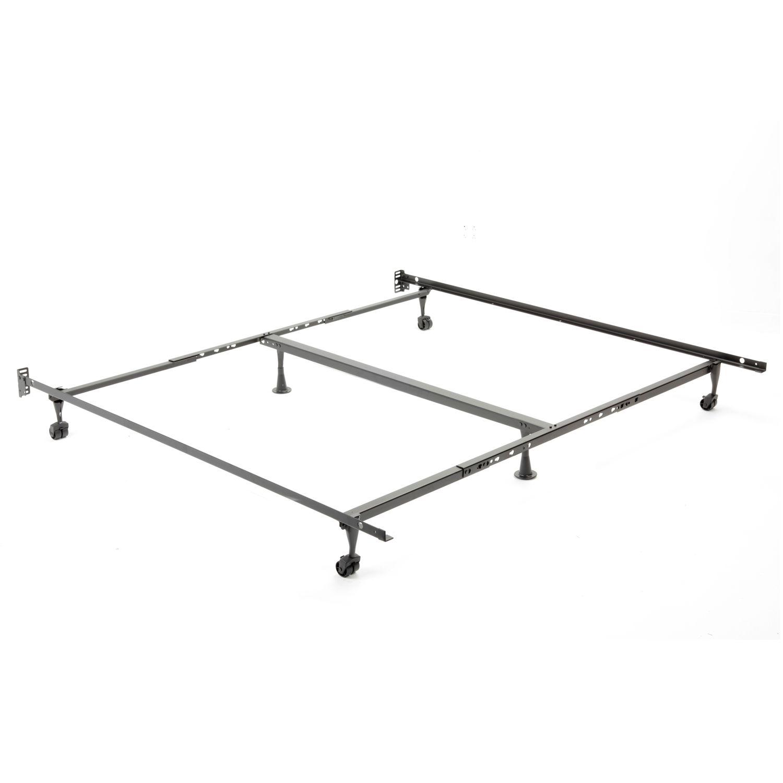 52 series metal adjustable bed frame king