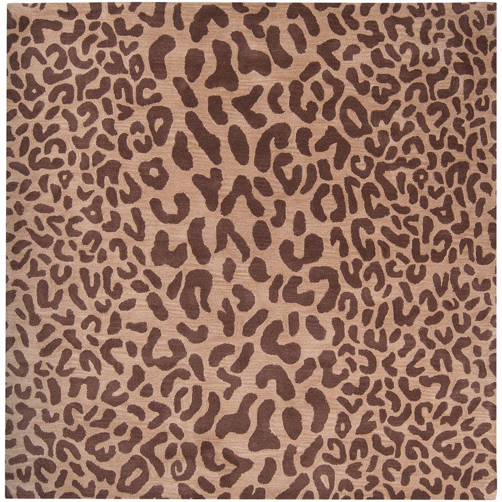 Surya Athena Animal Print Rug - 6' Square