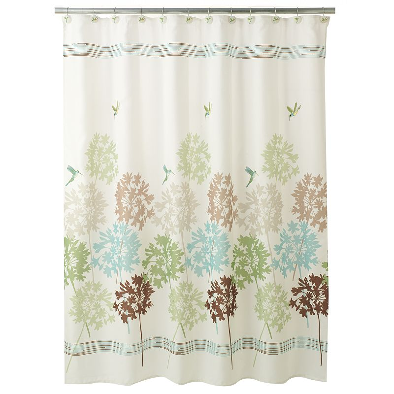 Bath Floral Shower Curtain