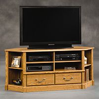 Sauder Orchard Hills Corner Entertainment Center